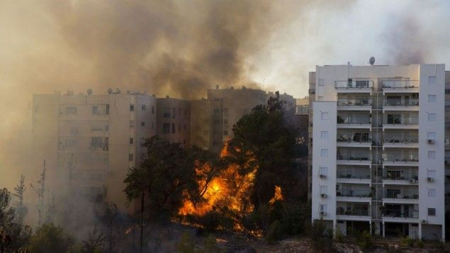 Israel on Fire: 80,000 People Told to Evacuate Haifa