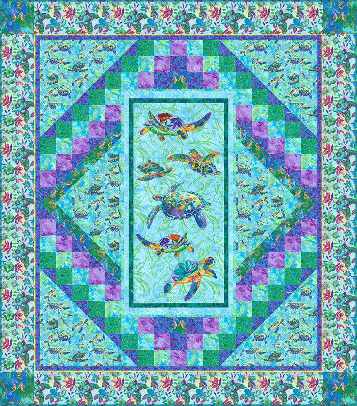 47 best Hawaiian Quilts images on Pinterest | Hawaiian quilts ... : best quilt fabric online stores - Adamdwight.com