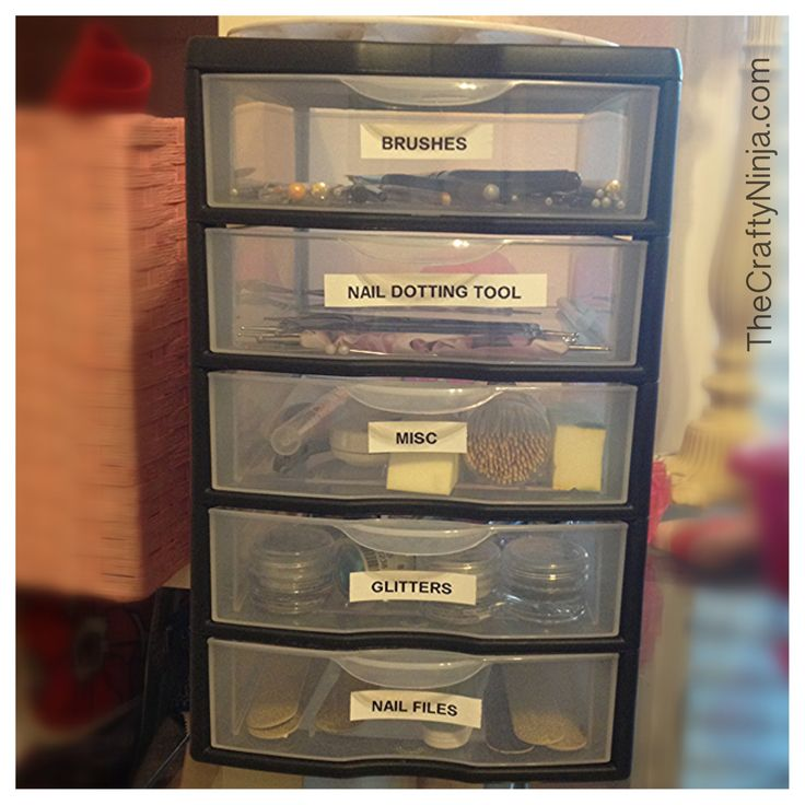 Favorite Nail Tools and Storage
