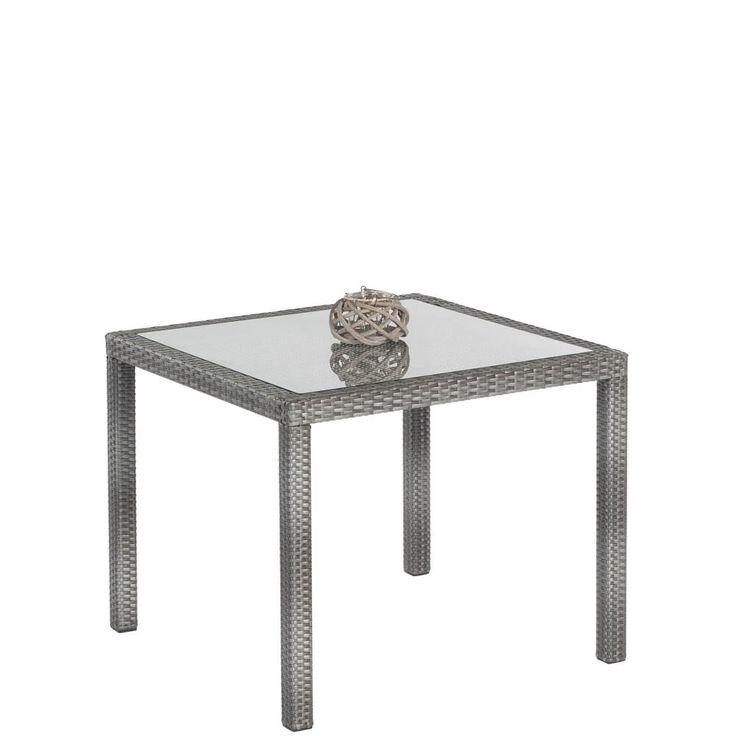 Gartentisch Mailand Geflecht Graphit Glasplatte 90x90cm Jetzt bestellen unter: https://moebel.ladendirekt.de/garten/gartenmoebel/gartentische/?uid=8e9fe8e7-04a0-5ac6-8608-5542e233fb4c&utm_source=pinterest&utm_medium=pin&utm_campaign=boards #metall #günstig #kaufen #gartentisch #tisch #aluminium #online #garten #alu #gartenmoebel #gartentische #gartenmöbel