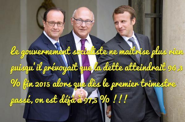 France : la dette publique explose un nouveau record historique pour s'établir à 97,5% du P.I.B ! - CITOYENS ET FRANCAIS