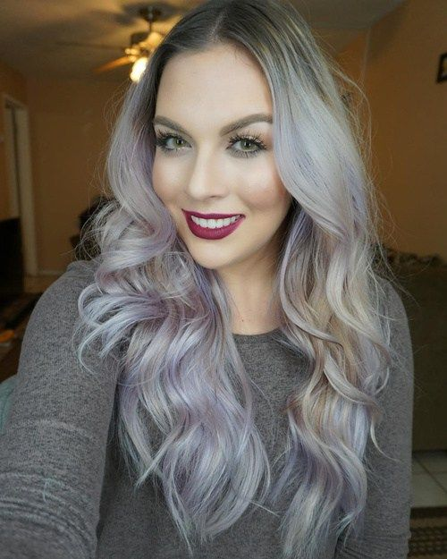 The Prettiest Pastel Purple Hair Ideas Purple Balayage