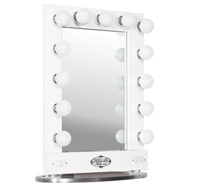 Broadway Lighted Vanity Mirror Gloss White : 31 best images about Make up mirror light on Pinterest Dressing room mirror, Lighted mirror ...