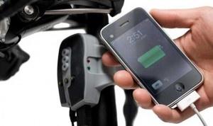 USB зарядка для велосипеда.