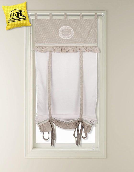 59 migliori immagini idee tende mantovane tende sotto - Tenda per finestra bagno ...
