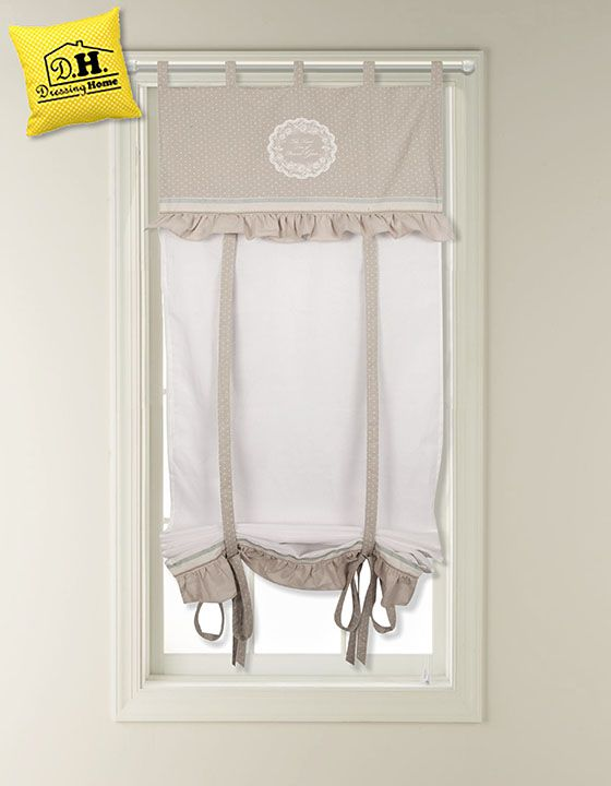 1000 idee su mantovane finestra su pinterest scatola - Tende bagno country ...