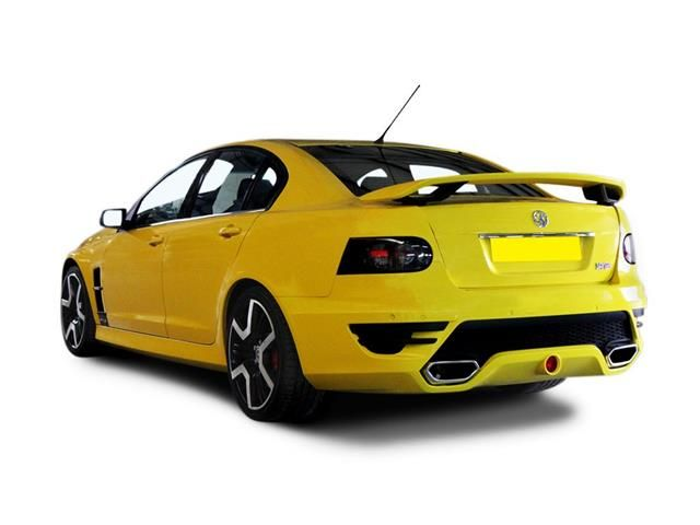 Vauxhall VXR8 Saloon rear three quarter view