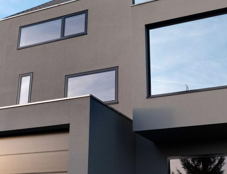 24 Besten Fassade Bilder Auf Pinterest Wohnen, Grundrisse Und    Fassadenfarbe Beispiele 3 ...