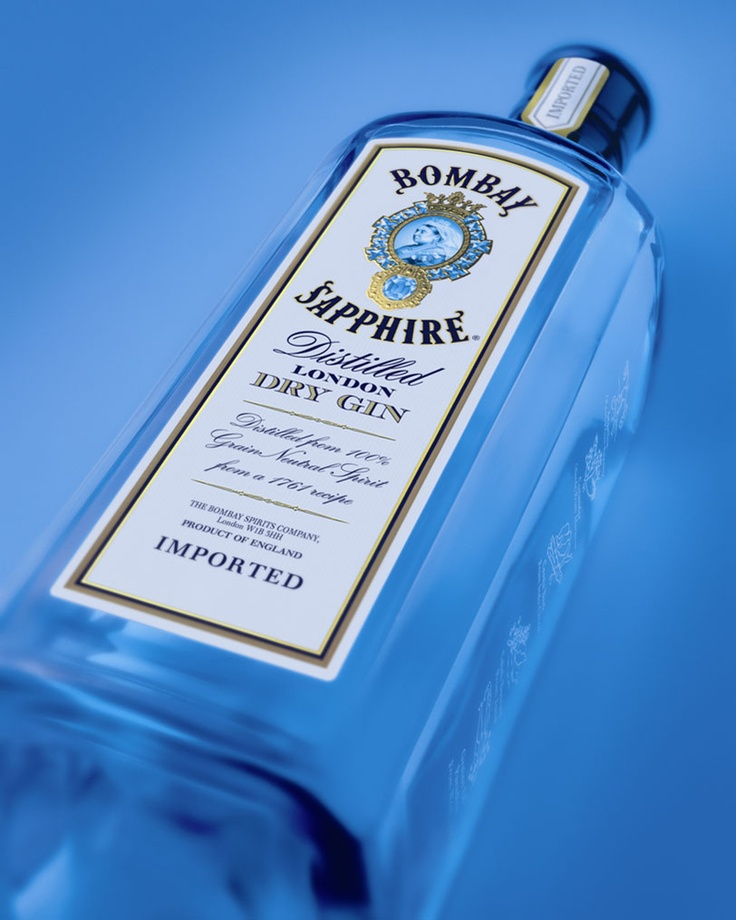 Bombay Gin a girls best friend!