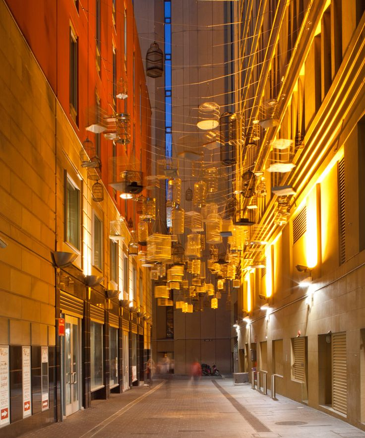 Angel Place and Ash Street Sydney Laneways Upgrades