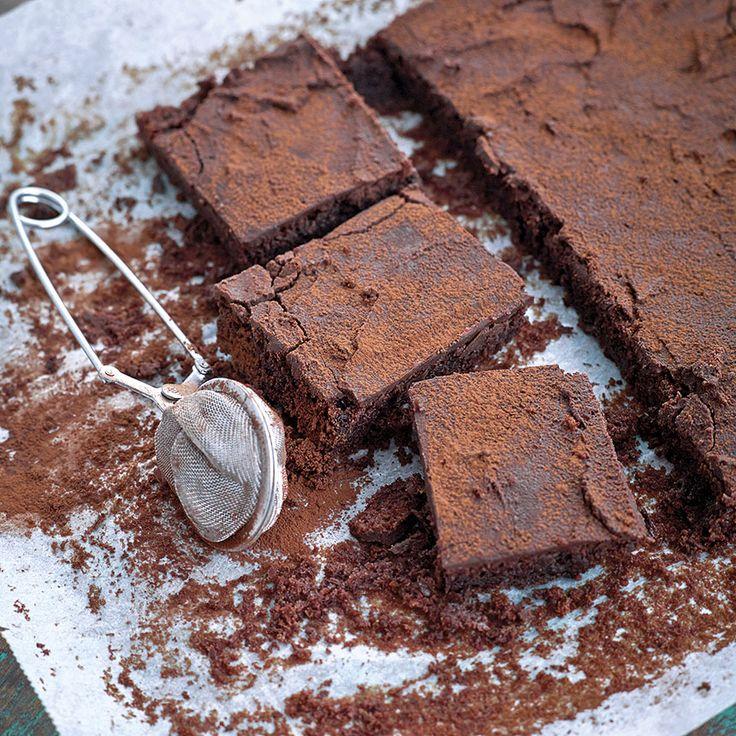 För chokladälskaren är kladdkaka i långpanna en dröm.