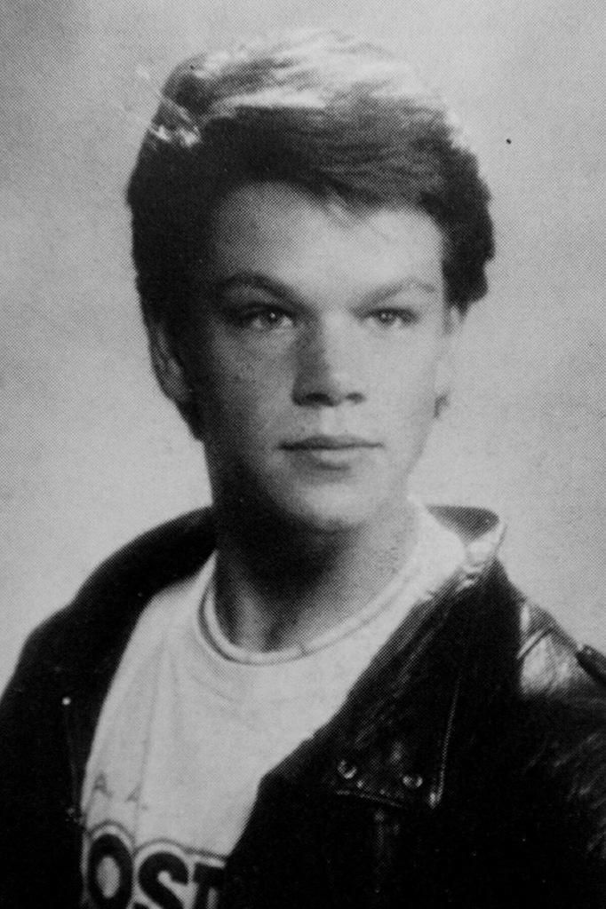 "MattDamon-YearbookPicture.jpg -- Before ""Bourne Identity,"" there was ""Good Will Hunting,"" and before that, 2007's Sexiest Man Alive, Matt Damon, was a Harvard student (we're getting to the ""tough"" times, promise!). But BEFORE that, he was a smart Boston high schooler with a feathered haircut who used to breakdance for money in Harvard Square (and yes, hang out with Affleck, so we guess his life wasn't so tough after all). Credit: Phil Penmano/Splash News"