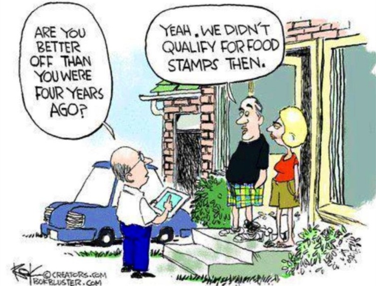 """...I am Conservative...So this is Funny...Obama is the """"Foodstamp"""" President...Humor..."""