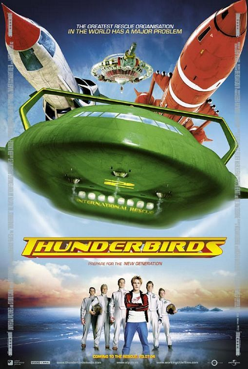 Thunderbirds Movie Poster