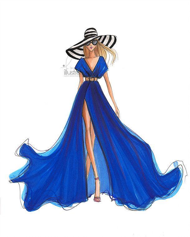 25 best ideas about fashion illustration dresses on