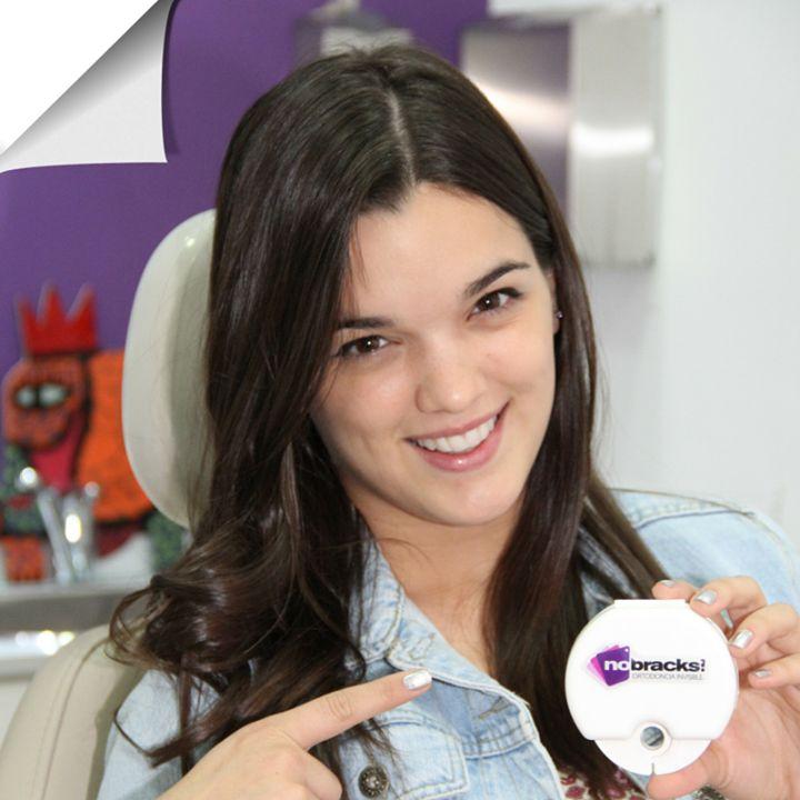 Malena Ratner #sonríe con nostros! #nobracks www.nobracks.com