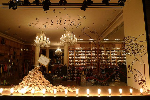 repetto soldes été 2009 by JournalDesVitrines.com, via Flickr