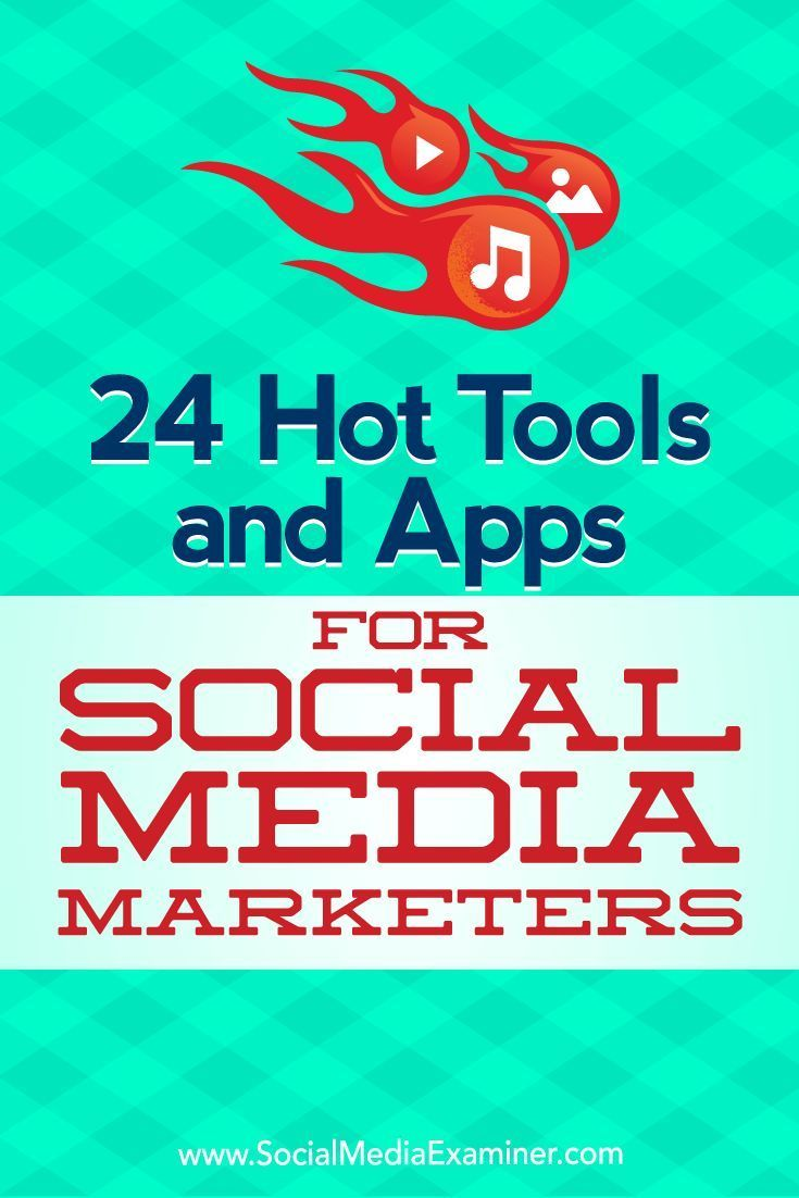 Want to try some new social media marketing tools?Wondering which apps can enhance your social media audio, video, and images?In this article, you��lldiscover 24 useful social media tools.