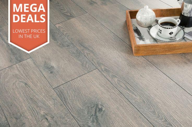 Mega Deal 8mm Laminate Flooring Lazio Oak New House Woods And