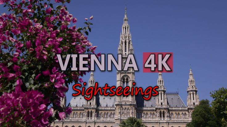 Ultra HD 4K Vienna Austria Travel Sightseeings Landmarks Tourist Attractions UHD Video Stock Footage
