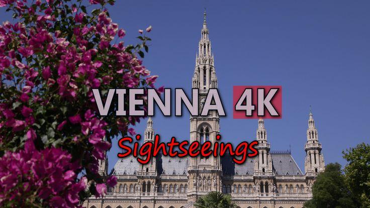 Ultra HD 4K Vienna Austria Travel Sightseeings Landmarks Tourist Attractions UHD Video Stock Footage