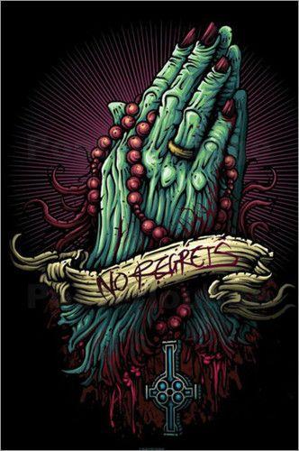 Cardxcore - No Regrets by Dan Mumford