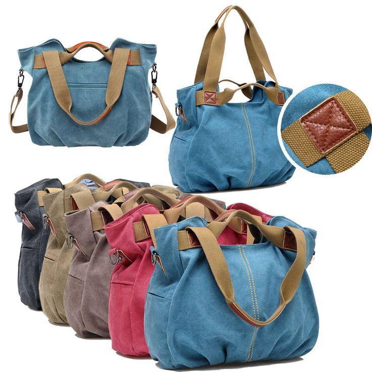 Hot Women's Canvas Hobo Messenger Shoulder Bags Cross Body Satchel Handbags Bag