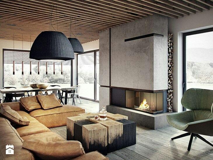 Loft design, wonderful table