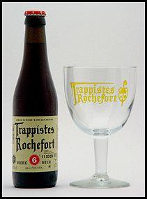 Rochefort 6 is een bruin trappisten bier met 7,5% vol alcohol met een zoet bitterige smaak, gebrouwen in Abdij Notre Dame de St. Remy (B).