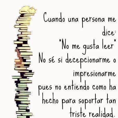 """No me gusta leer"""