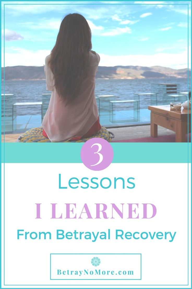 Dealing with emotional pain after his betrayal? Discover the 3 lessons I learned from personal betrayal recovery.