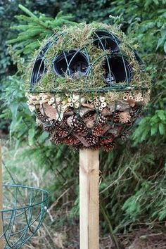 Bug Ball Topiary Tree from Wildlife Gadgetman - a whole new take on the bug hotel!