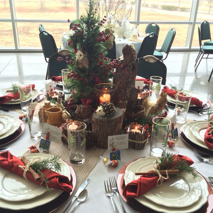 Best images about decorating a christmas dinner table