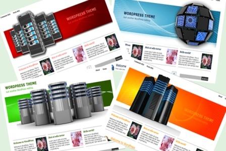 Top 10 WordPress Web Hosting Themes