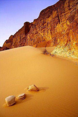 Desert #landscape in Egypt