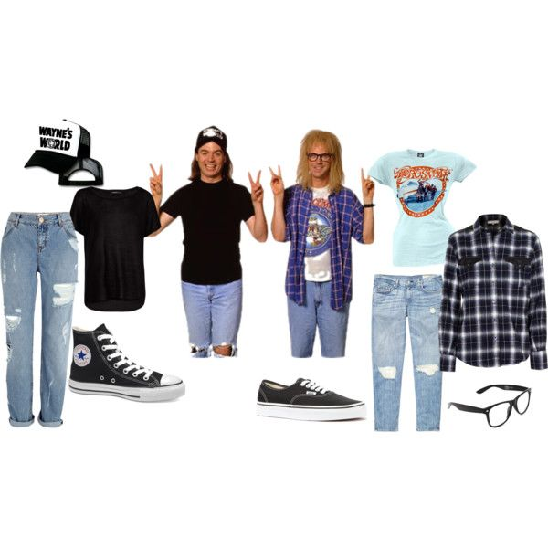 Wayne's World Clever Funny DIY Costume Halloween