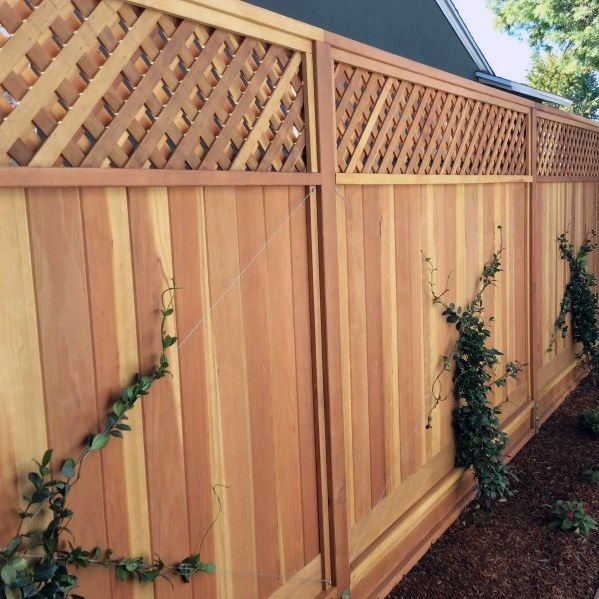 Top 70 Best Wooden Fence Ideas Exterior Backyard Designs Backyard Design Fence Design Backyard Fence Decor