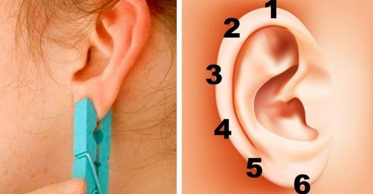 Posez une épingle à linge sur votre oreille durant 5 secondes: les effets inattendus vous surprendront!