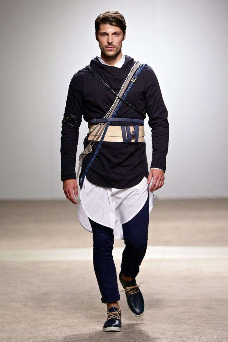ALC Menswear AW17: Look 4 -- Photo: Simon Deiner at South African Menswear Week