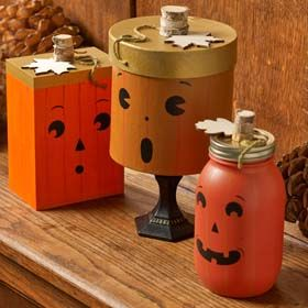 Looking for a fun Halloween mason jar craft? This tricky trio is fun and easy to make!