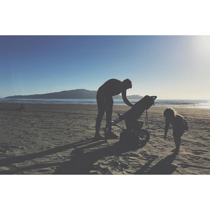 Hanging out on our long beach with the always awesome to hang with @wedo_photography yesterday. #longshadows #silhouette #iphonephoto #kidsarerelentless #theseaisgoodforyoursoul #kapiti #waikanae