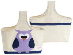 Machiko - a boutique for kids - Owl Caddy By 3 Sprouts, $29.95 (http://www.machikobaby.com.au/products/owl-caddy-by-3-sprouts.html)