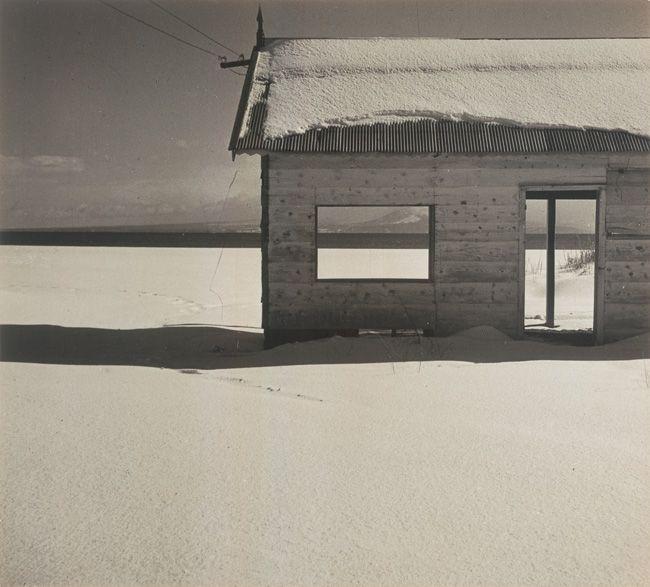 Shoji Ueda, hiver, 1935