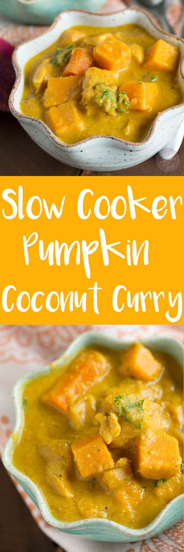 Whole30 Slow Cooker Pumpkin Coconut Curry Recipe Whole30 Chicken and Pork Crock Pot Recipes