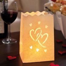Licht-Tüte Hochzeit Große Liebe, klein, 10 Stück