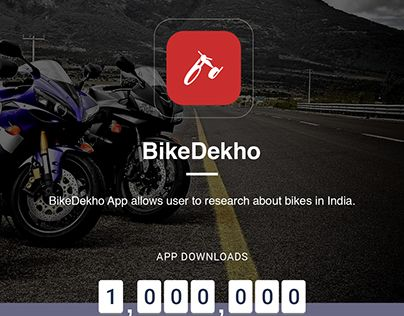 "Check out new work on my @Behance portfolio: ""BikeDekho"" http://be.net/gallery/48544511/BikeDekho"