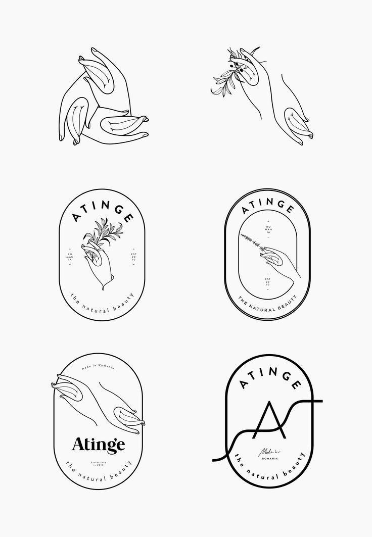 atinge-process-by-cocorrina // Logo Hände // Hände