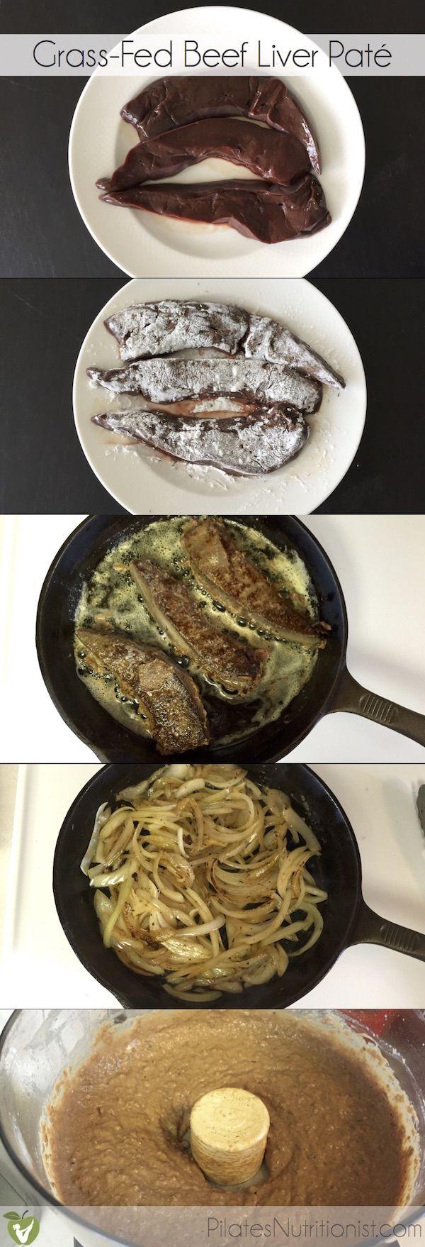 how to make grass fed liver pate
