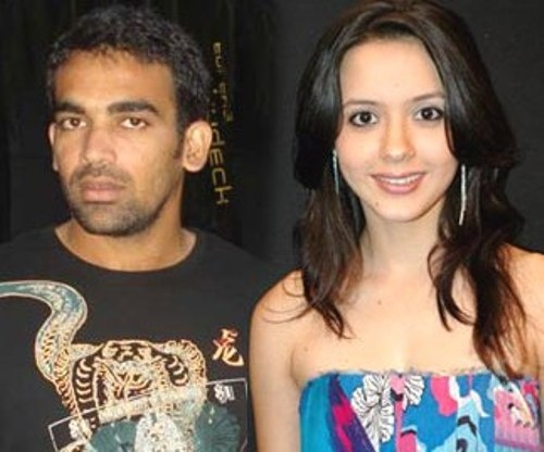 Isha Sharvani And Zaheer Khan Marriage 125 best images about ...