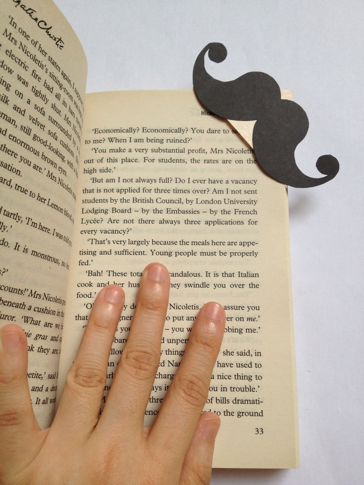 poirot's moustache